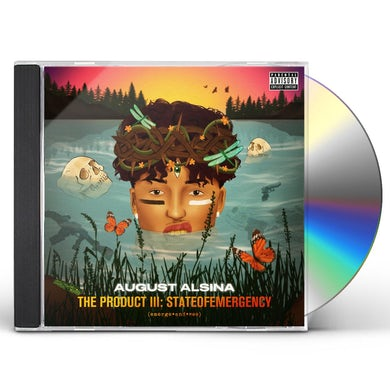 August Alsina PRODUCT III: STATEOFEMERGENCY CD