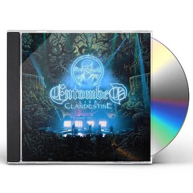 Entombed CLANDESTINE - LIVE CD