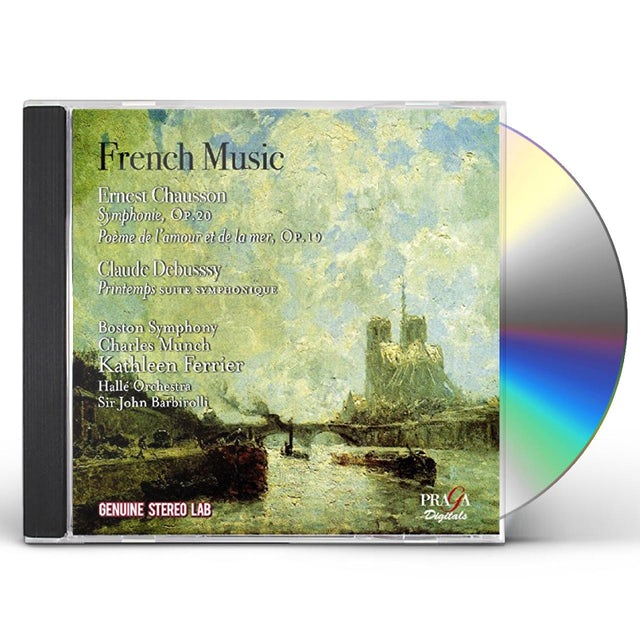 Kathleen Ferrier FRENCH MUSIC: WORKS BY CHAUSSON & DEBUSSY CD