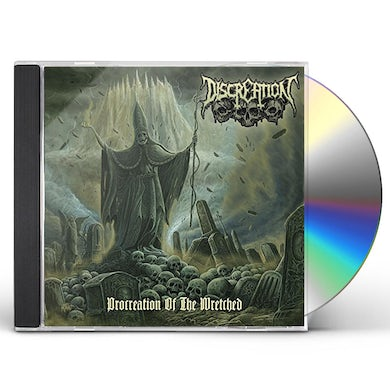 Discreation PROCREATION OF THE WRETCHED CD