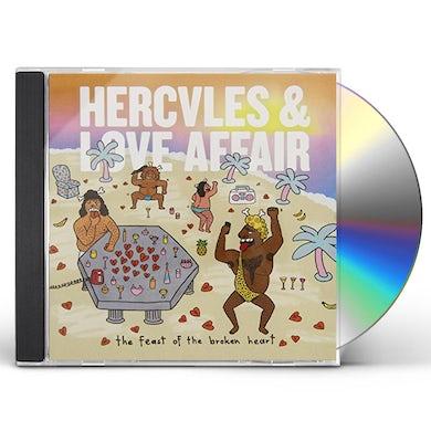 Hercules & Love Affair FEAST OF THE BROKEN HEART CD