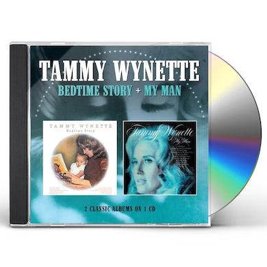 Tammy Wynette BEDTIME STORY / MY MAN CD