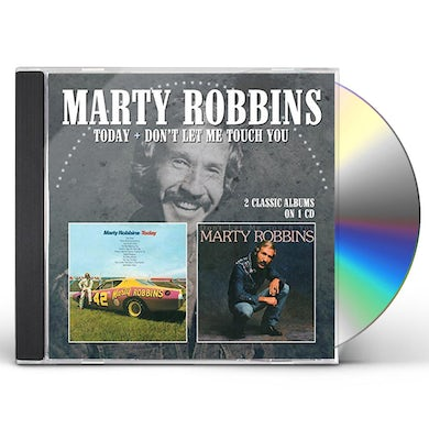 Marty Robbins TODAY / DON'T LET ME TOUCH YOU CD
