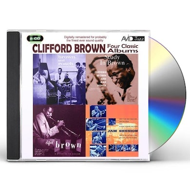 Clifford Brown FOUR CLASSIC ALBUMS CD