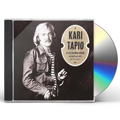 KARI TAPIO OLEN SUOMALAINEN: 44 HUIPPUHETKEA 1972-92 CD