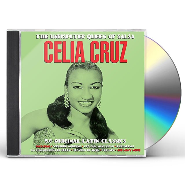 Celia Cruz UNDISPUTED QUEEN OF SALSA CD