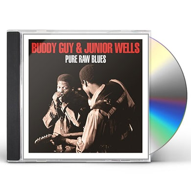 Buddy Guy & Junior Wells PURE RAW BLUES CD
