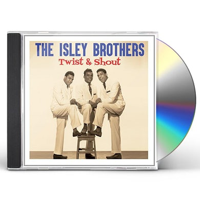 The Isley Brothers TWIST & SHOUT CD