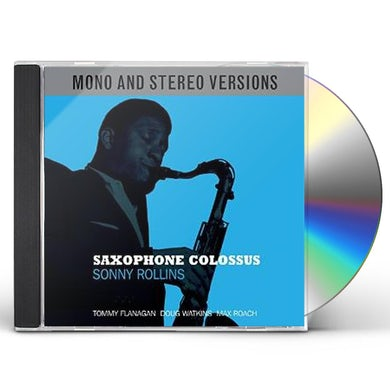 Sonny Rollins SAXOPHONE COLOSSUS MONO & STEREO CD