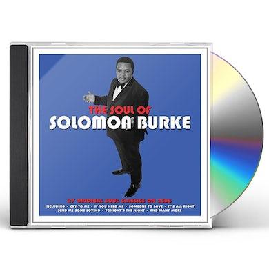 Solomon Burke SOUL OF CD