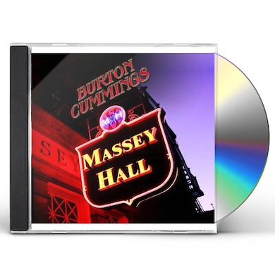 Burton Cummings MASSEY HALL CD