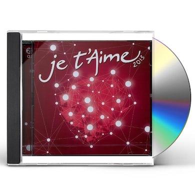 Aa. Vv. JE T'AIME 2013 CD