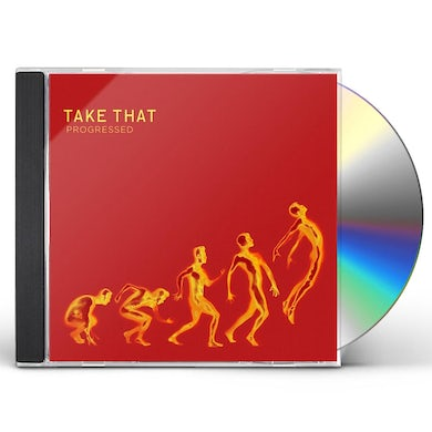 Take That PROGRESSED CD