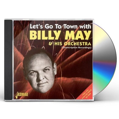 LET'S GO TO TOWN WITH BILLY MAY & HIS ORCHESTRA CD