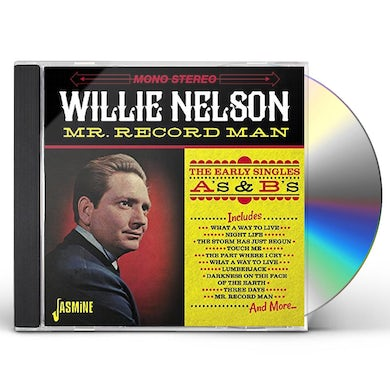 Willie Nelson MR. RECORD MAN: EARLY SINGLES AS & BS CD