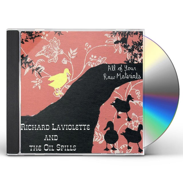 Richard Laviolette ALL YOUR RAW MATERIALS CD