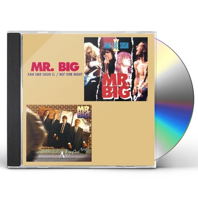 Mr Big RAW LIKE SUSHI 2 / NOT ONE NIGHT CD