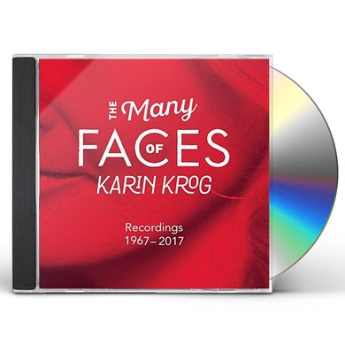 MANY FACES OF KARIN KROG CD