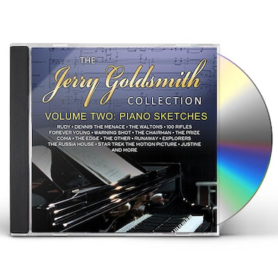 Jerry Goldsmith COLLECTION 2: PIANO SKETCHES CD