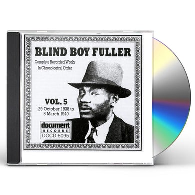 Blind Boy Fuller COMPLETE RECORDED WORKS 5 (1938-40) CD