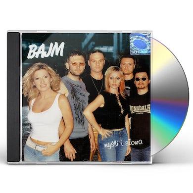 Bajm MYSLI I SLOWA CD