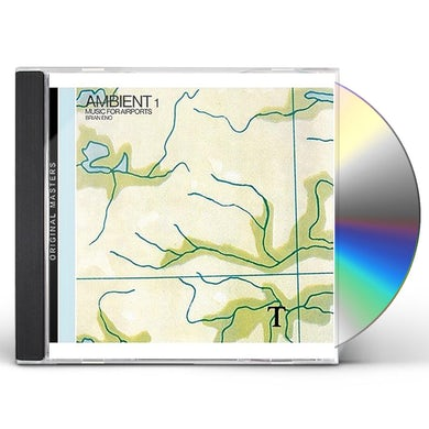 Brian Eno AMBIENT 1: MUSIC FOR AIRPORTS CD