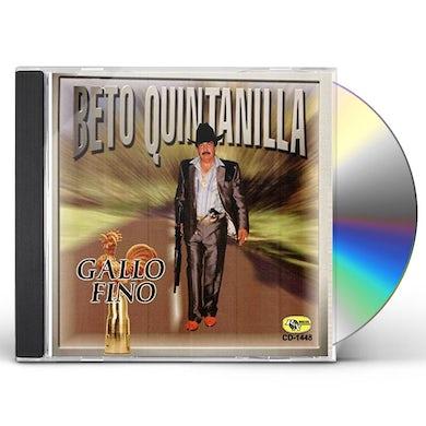Beto Quintanilla GALLO FINO CD