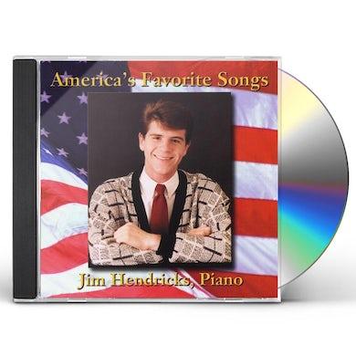 Jim Hendricks AMERICA'S FAVORITE SONGS CD