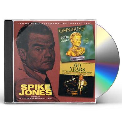 Spike Jones OMNIBUST: 60 YEARS OF MUSIC AMERICA HATES BEST CD