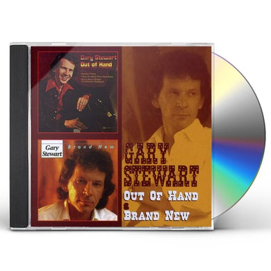 Gary Stewart OUT OF HAND / BRAND NEW CD