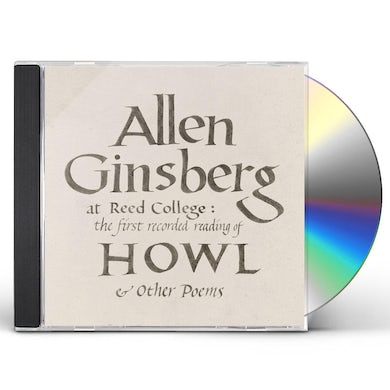 Allen Ginsberg At Reed College: The First Recorded Read CD