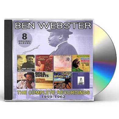 Ben Webster COMPLETE RECORDINGS: 1959-1962 CD