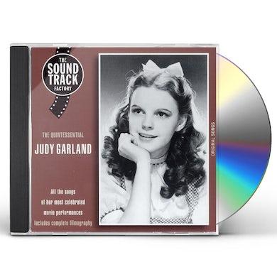 Judy Garland QUINTESSENTIAL CD