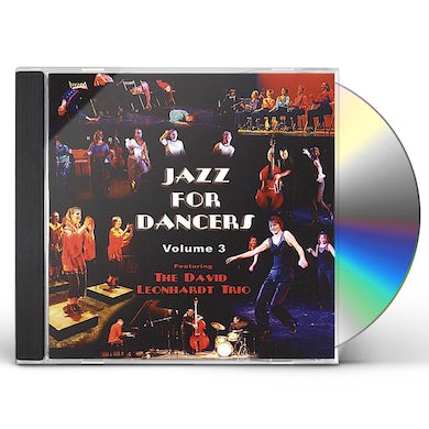 David Leonhardt JAZZ FOR DANCERS 3 CD