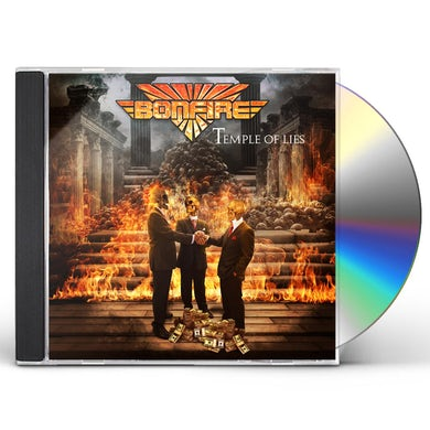 Bonfire TEMPLE OF LIES (DIGIPAK) CD