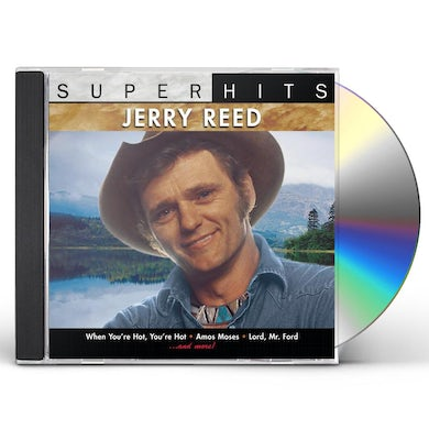 Jerry Reed SUPER HITS CD