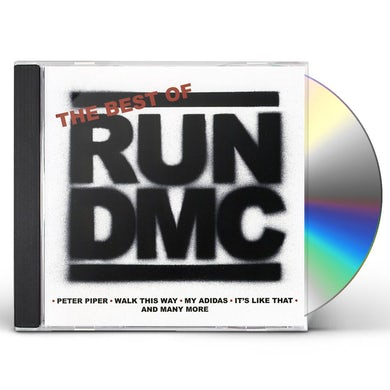 Run DMC BEST OF CD