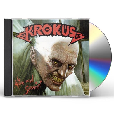 Krokus ALIVE & SCREAMIN CD