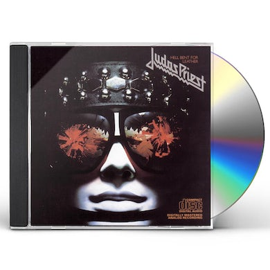 Judas Priest HELL BENT FOR LEATHER CD