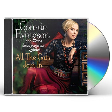 Connie Evingson ALL THE CATS JOIN IN CD