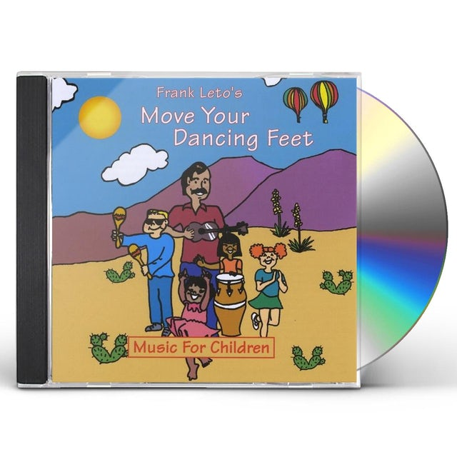 Frank Leto MOVE YOUR DANCING FEET CD