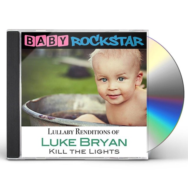 Baby Rockstar LUKE BRYAN KILL THE LIGHTS: LULLABY RENDITIONS CD