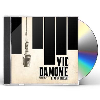 Vic Damone LIVE IN CONCERT CD