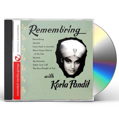 Korla Pandit REMEMB'RING CD