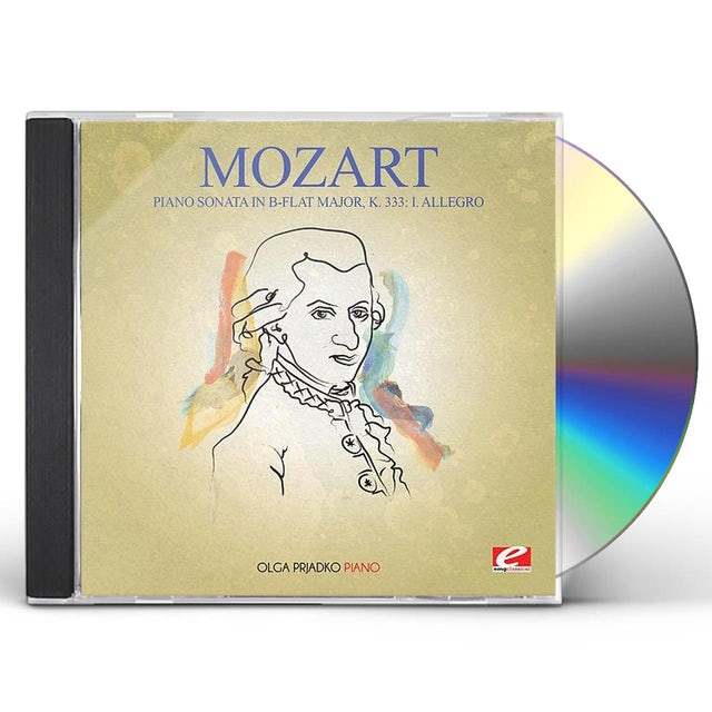 Mozart PIANO SONATA IN B-FLAT MAJ K 333 CD