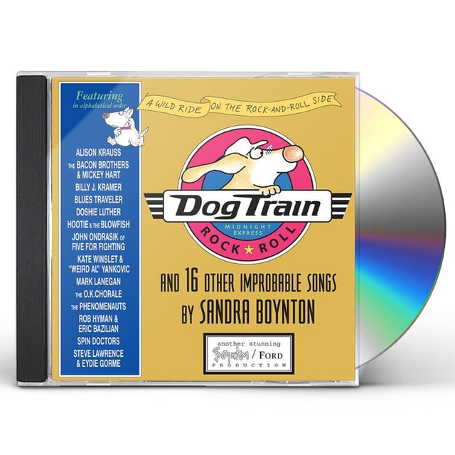 Sandra Boynton DOG TRAIN (DELUXE EDITION) CD