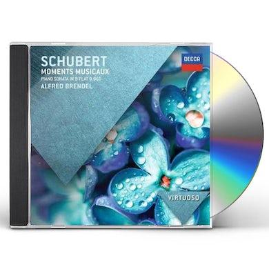 Alfred Brendel VIRTUOSO: SCHUBERT MOMENTS MUSICAUX-PIANO SONATA CD