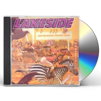 Lakeside KEEP ON MOVING STRAIGHT AHEAD CD