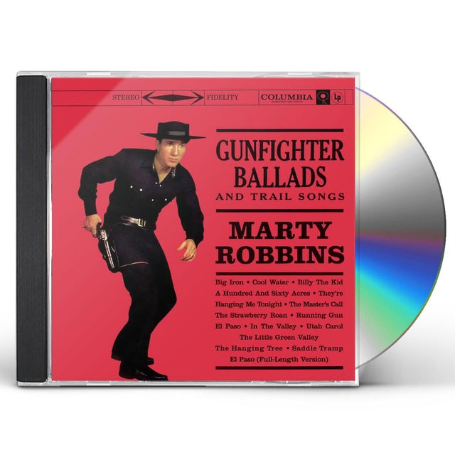 Marty Robbins GUNFIGHTER BALLADS & TRAIL SONGS CD