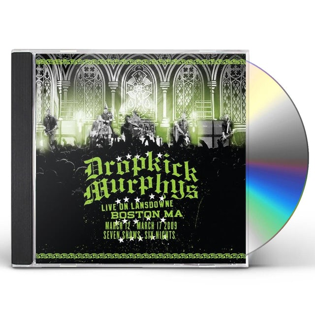 Dropkick Murphys LIVE ON LANDSDOWNE BOSTON MA CD